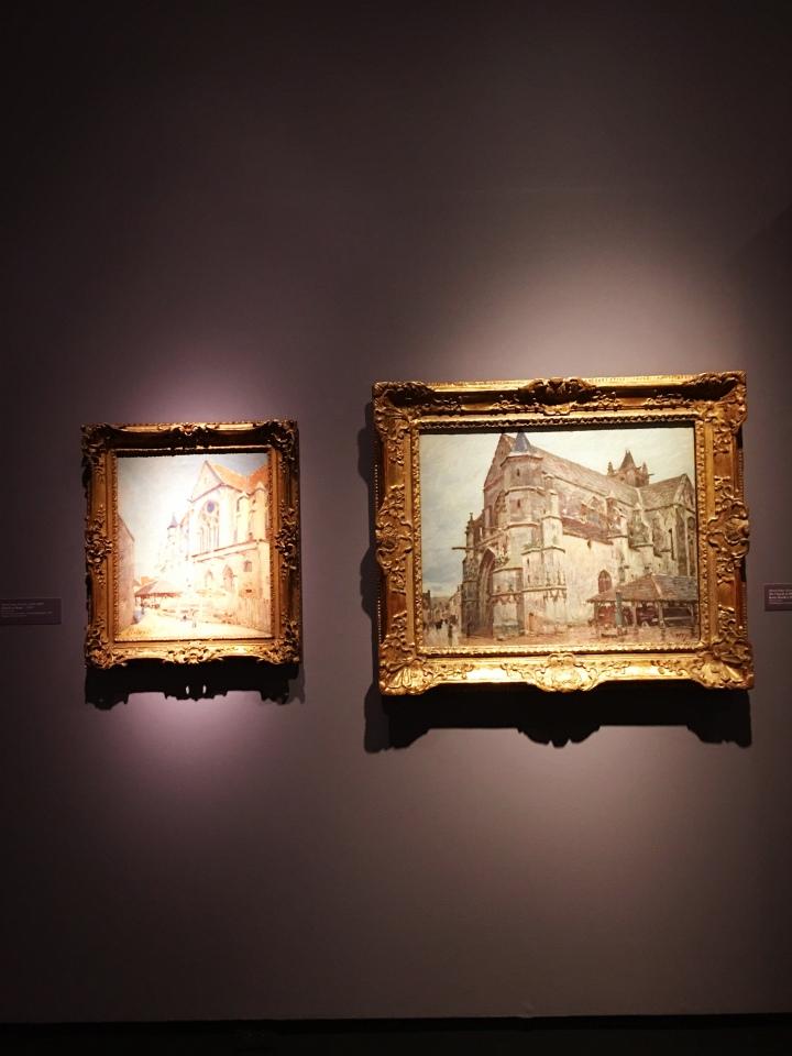 Alfred Sisley Impressionist Exhibit