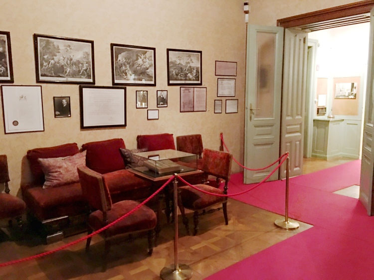 Freud Museum Vienna Austria waiting room