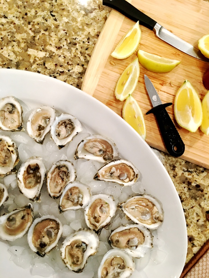 Standish Shore Oysters with The Real Oyster Cult