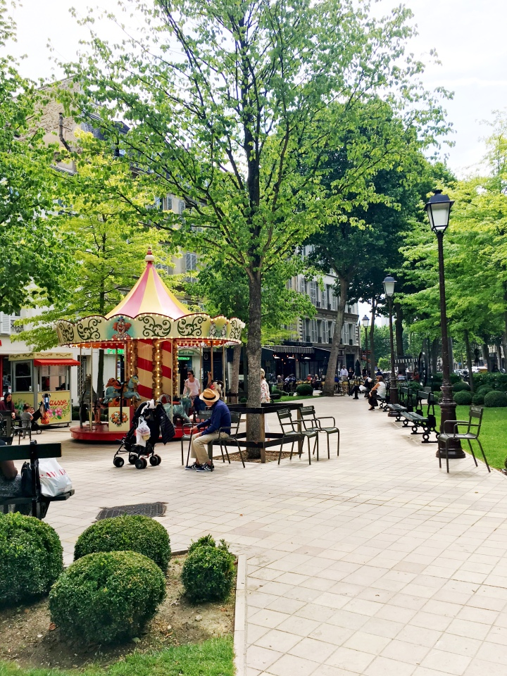 Neuilly-sur-Seine centre ville