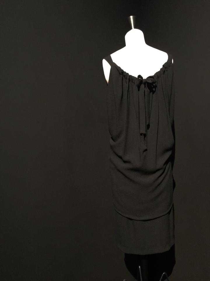 Balenciaga L'oeuvre noir fashion exhibit