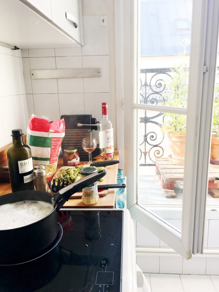 Cooking French Meal