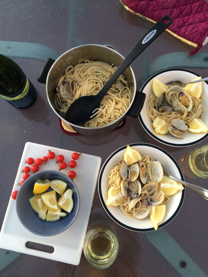 Linguine and Clams Dinner
