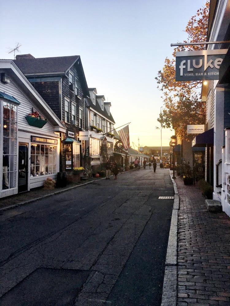 Bannister's Wharf Newport Rhode Island