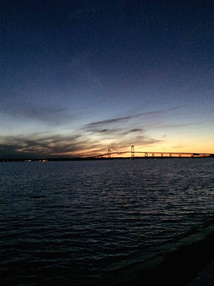 Pell Bridge at Night