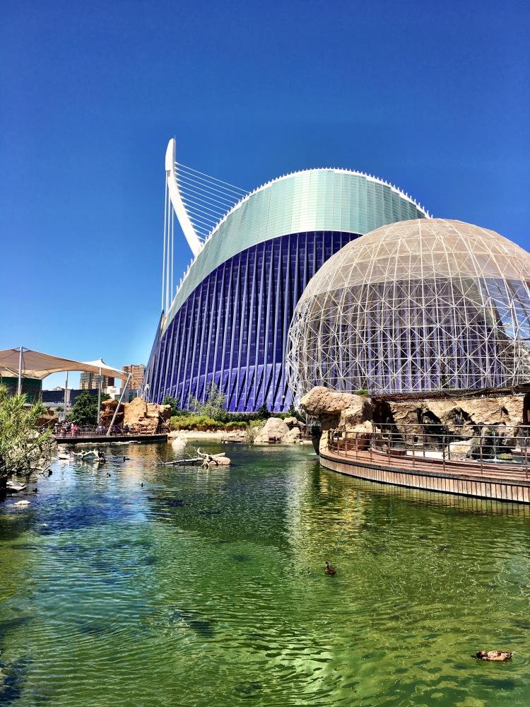 Oceanografic Valencia Spain