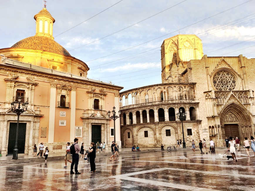 Valencia Spain City Center
