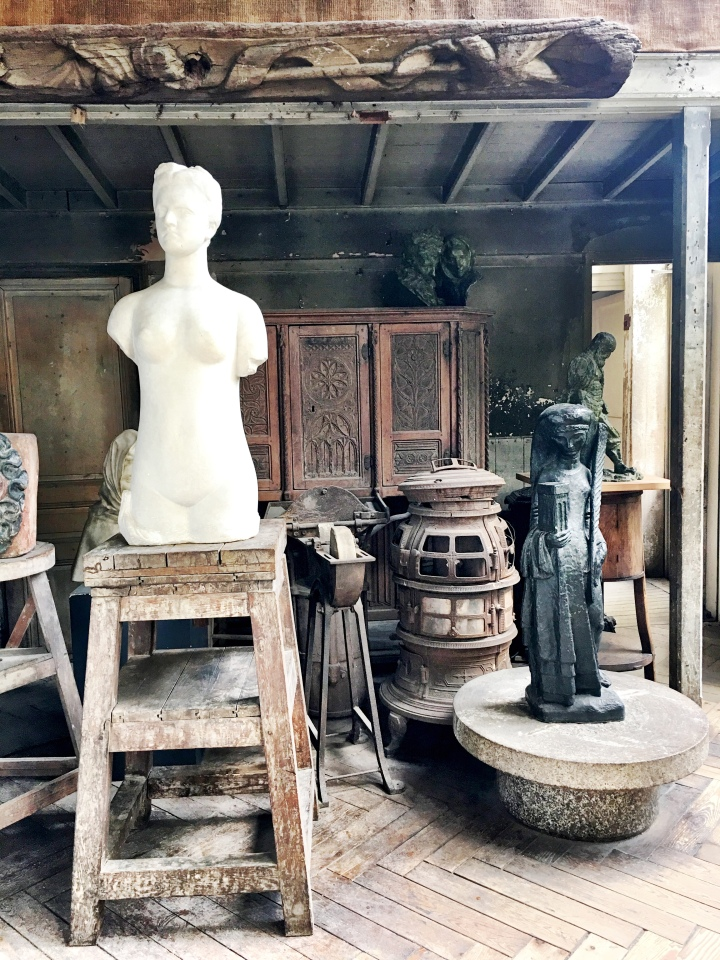 Musee Bourdelle apartment studio