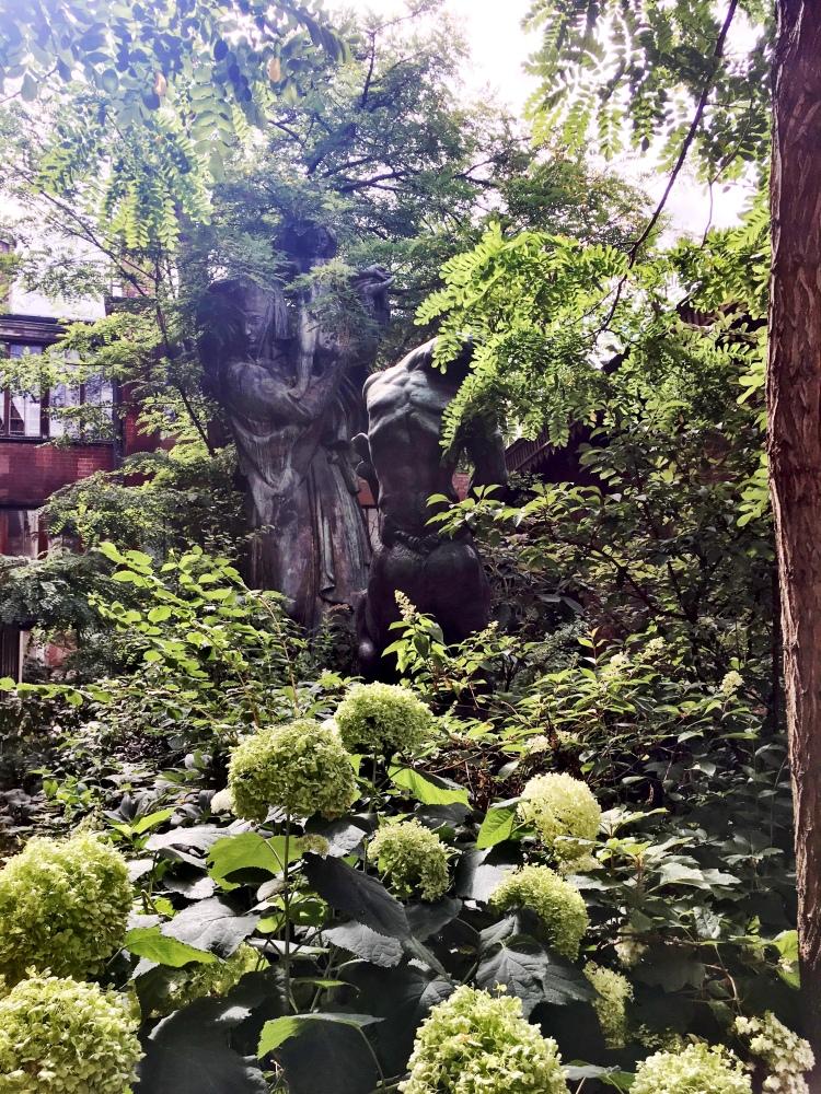 Musee Bourdelle gardens
