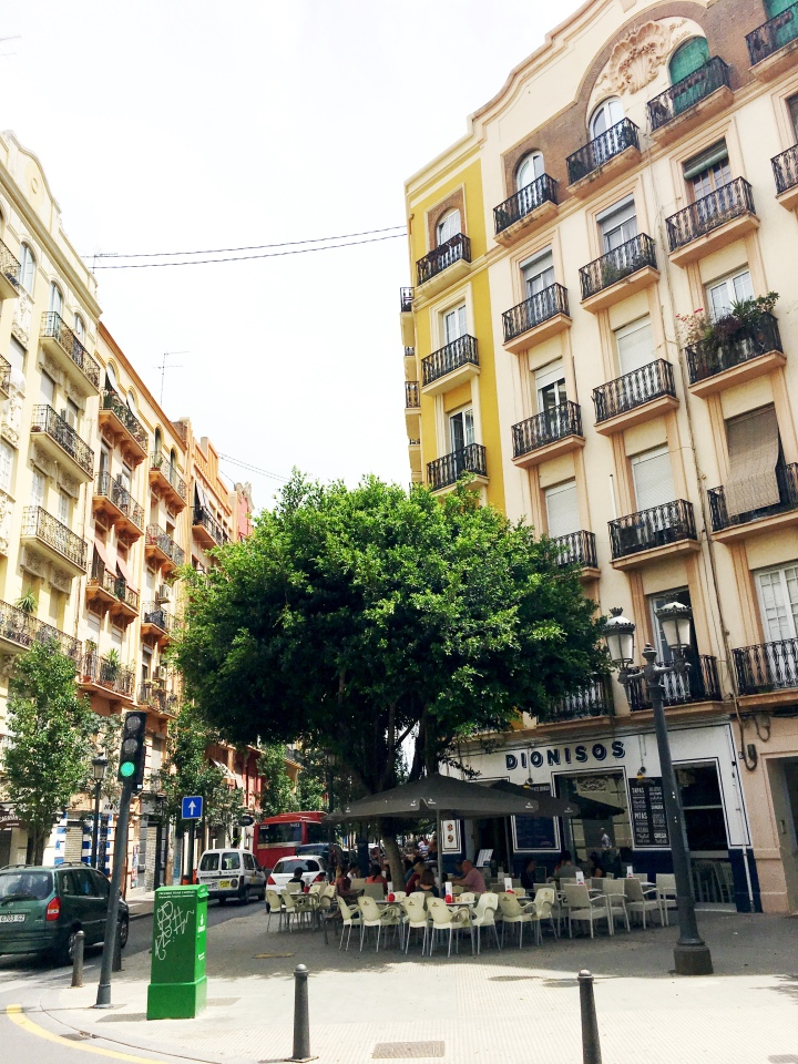 Ruzafa Neighborhood Valencia Spain