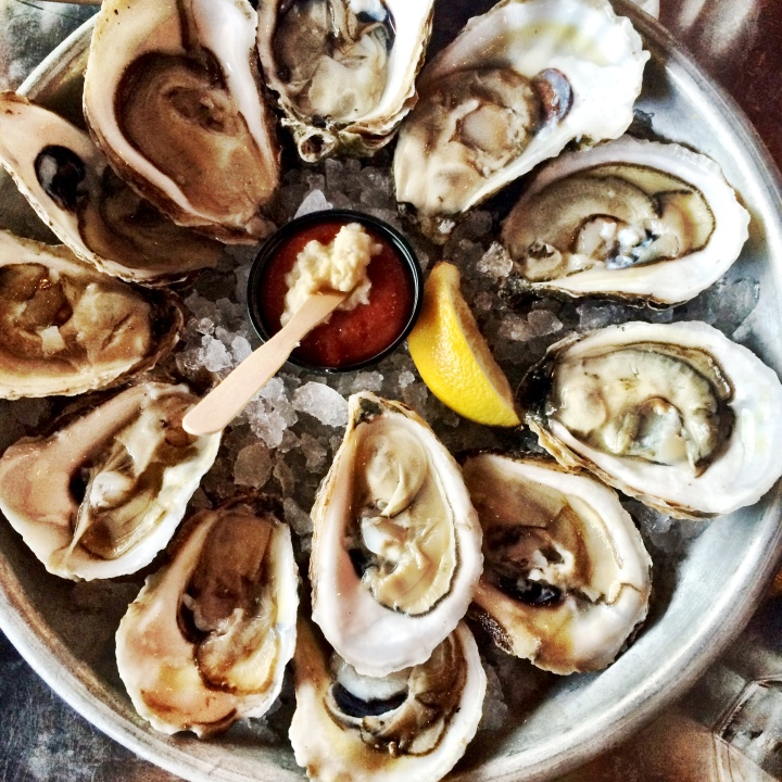 Oysters at Benjamin's Newport