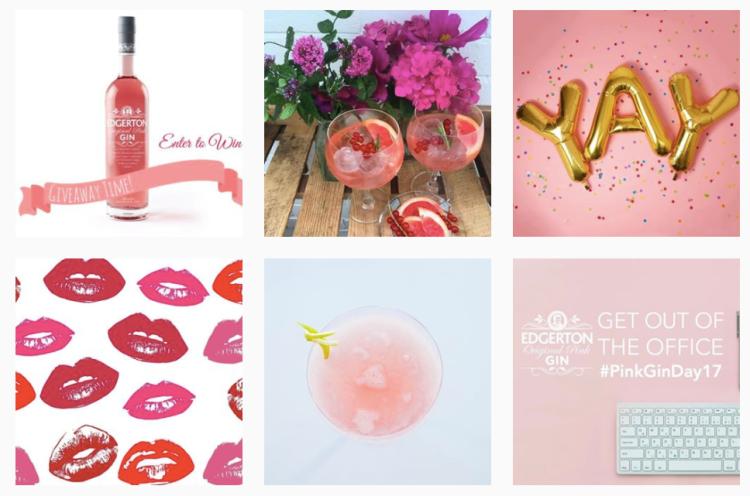 Edgerton Pink Gin Instagram