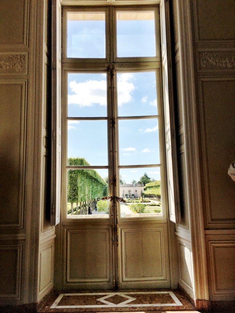 Petit Trianon Interior Garden View