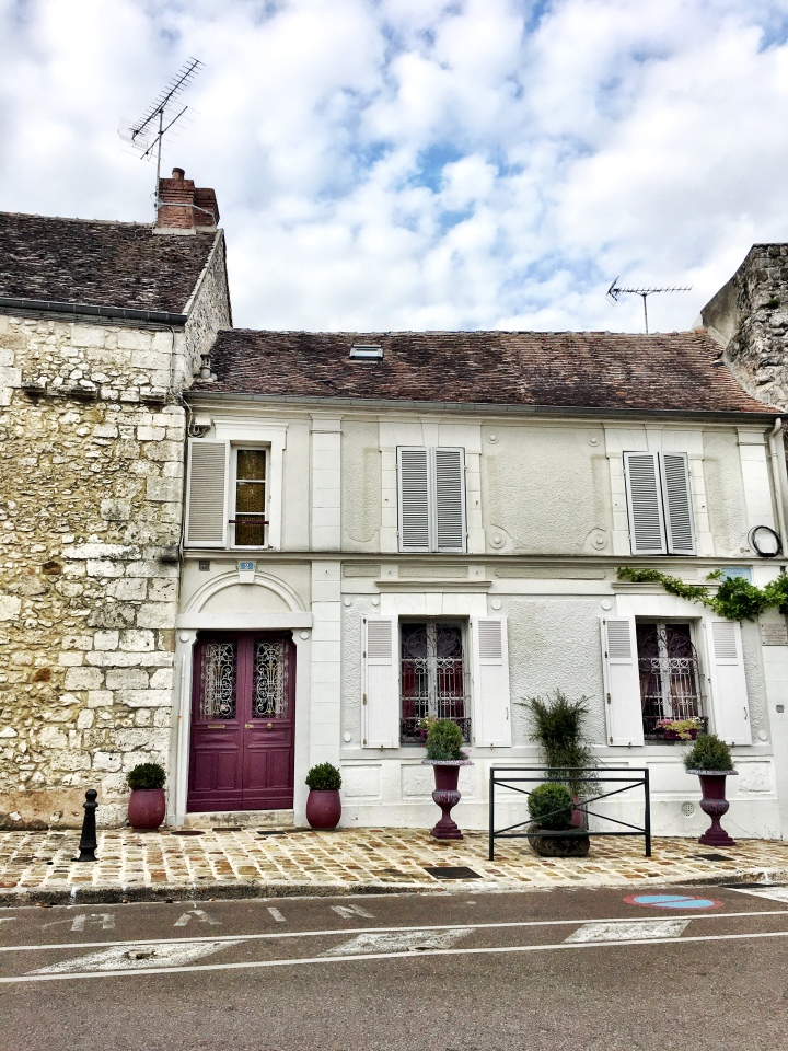place du Chatel Provins France