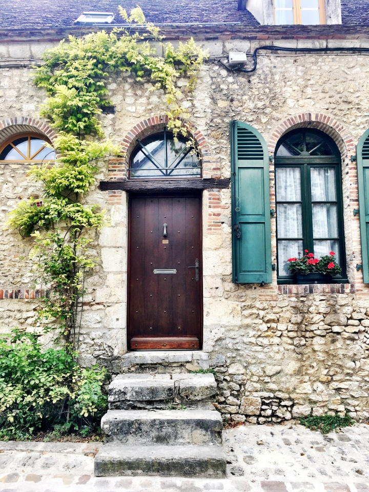 Architecture in Provins, France