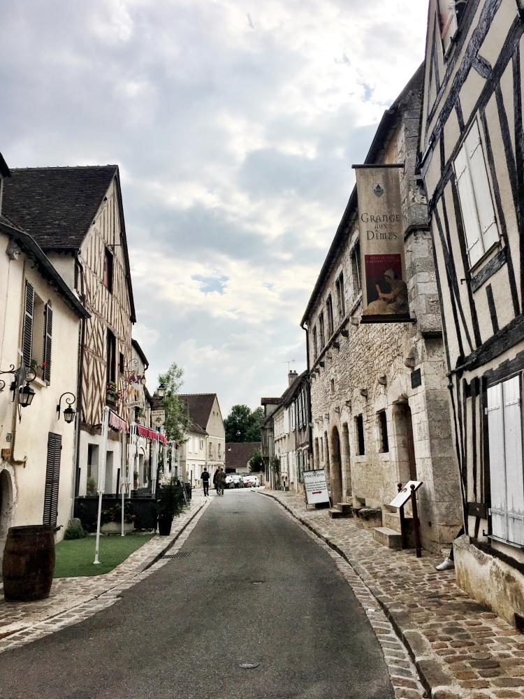 Provins France street