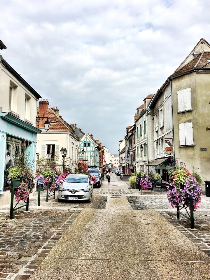 Provins France city center