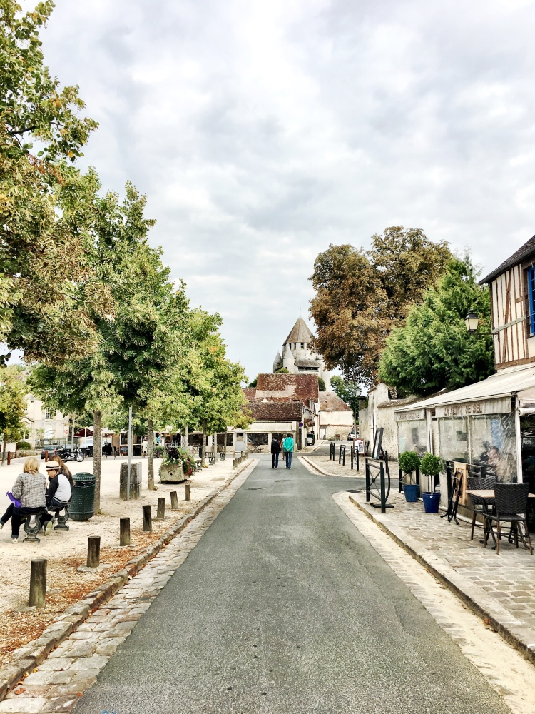 place du Chatel in Provins, France