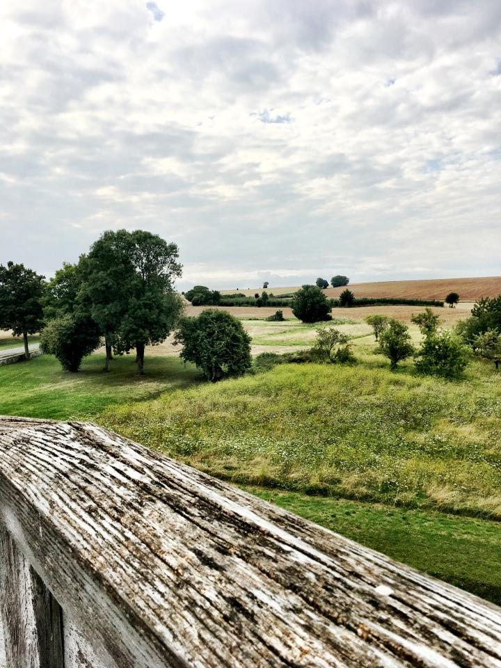 Provins France medieval ramparts