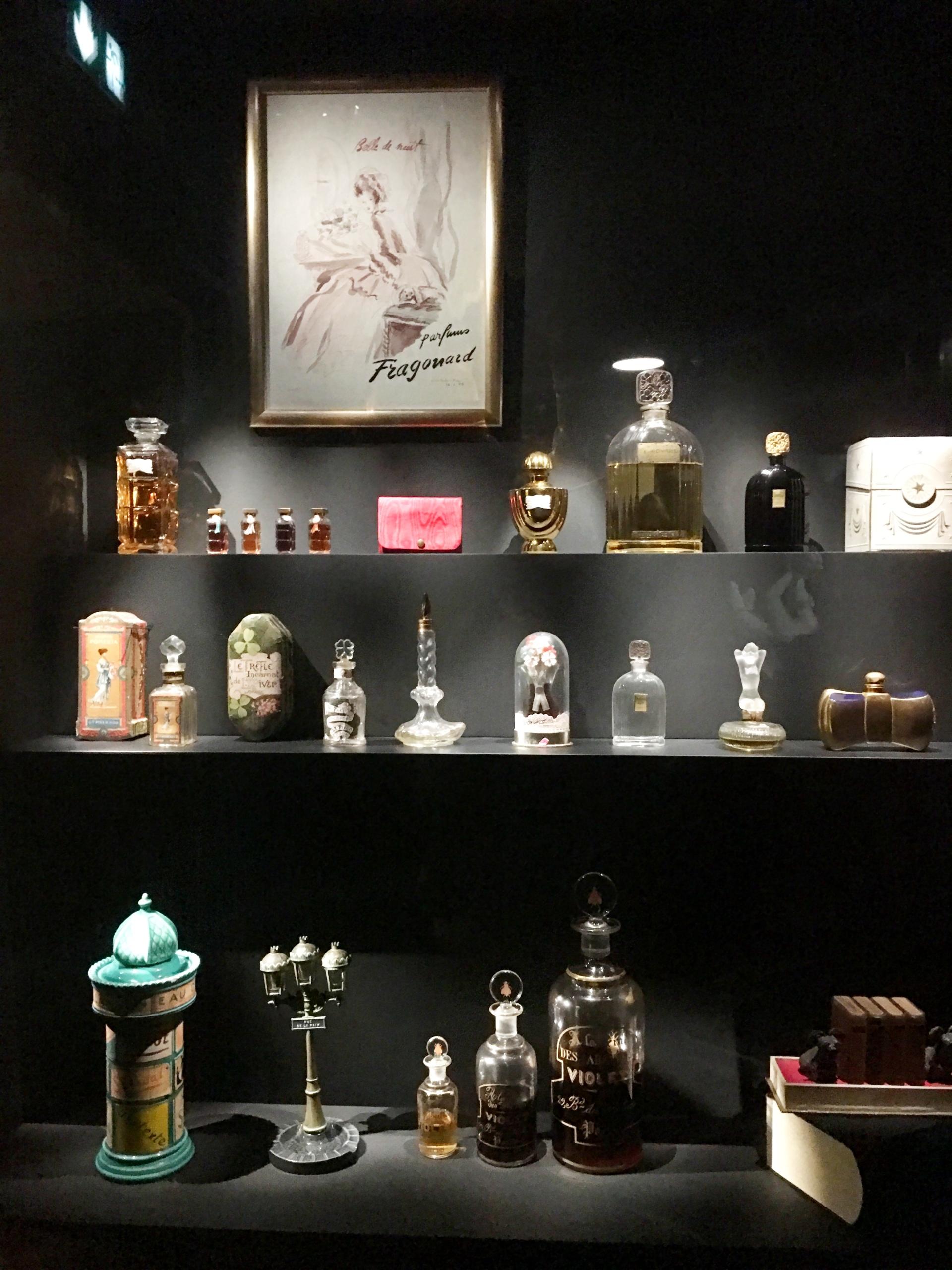 Fragonard Musée du Parfum bouteilles du parfum