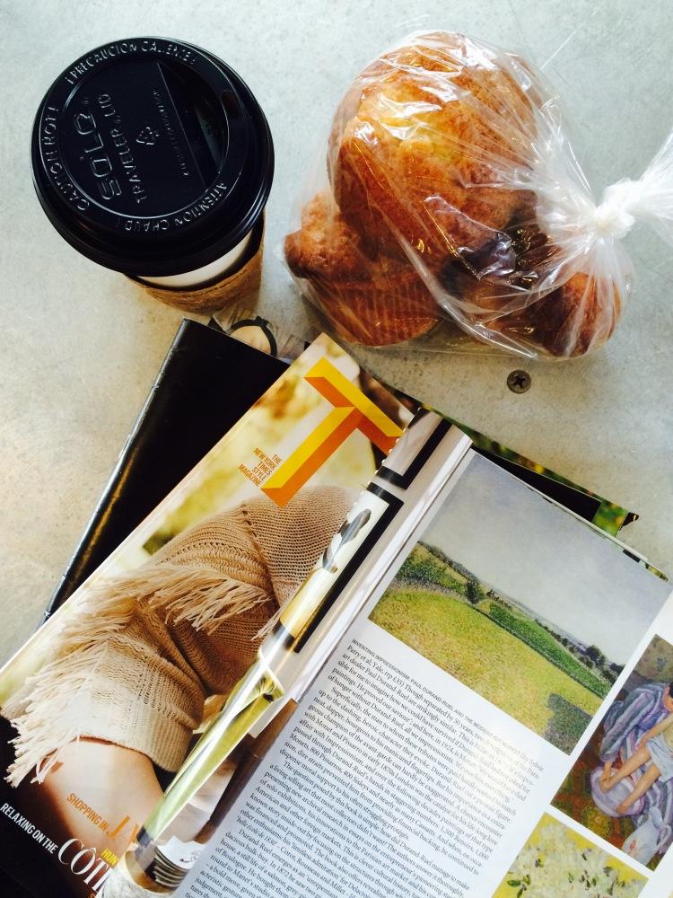 CRU Cafe muffins