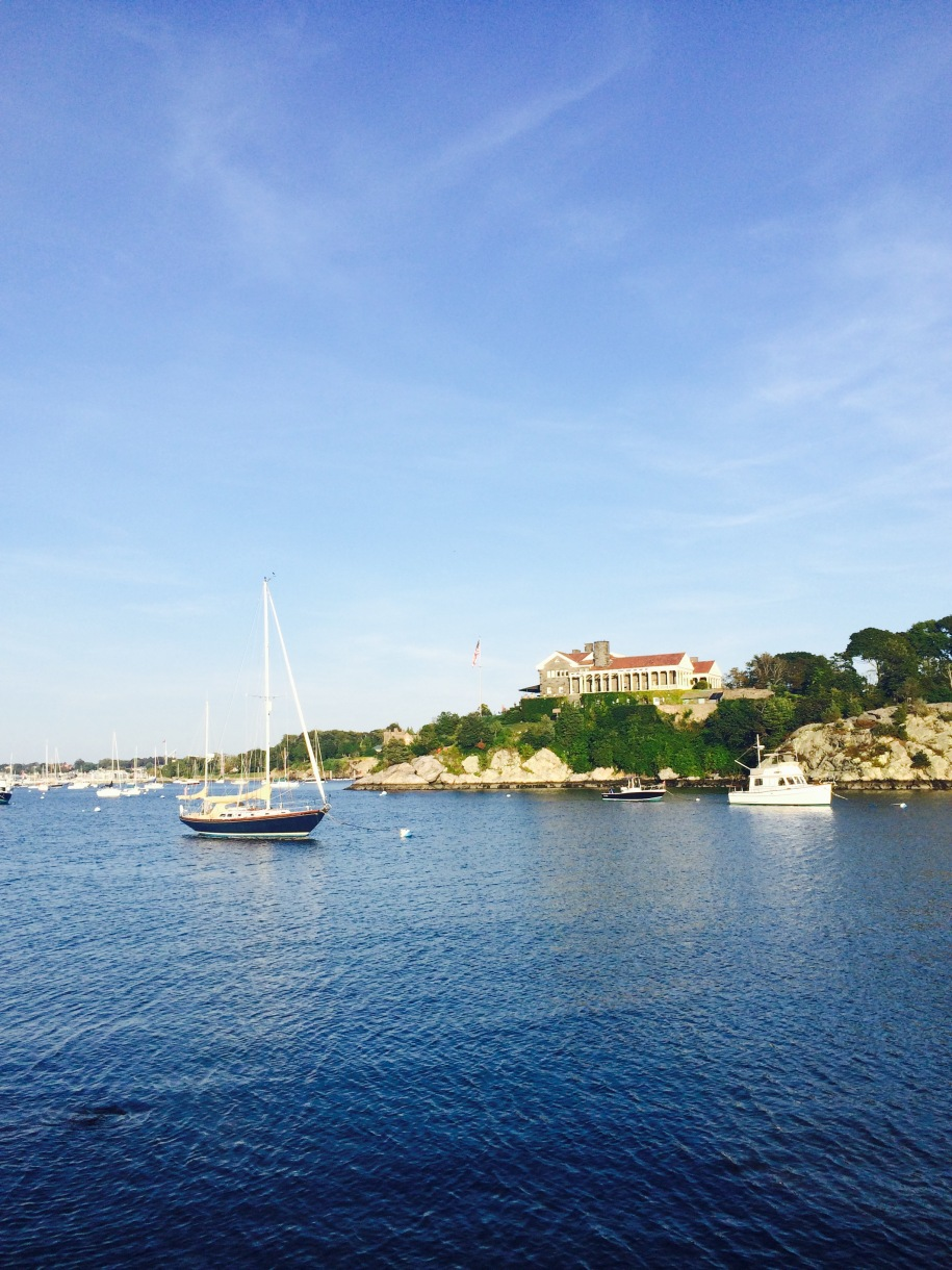 Fort Adams by the water