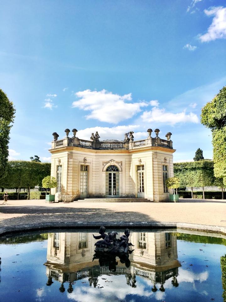 Petit Trianon Jardin Francais outdoor ballroom