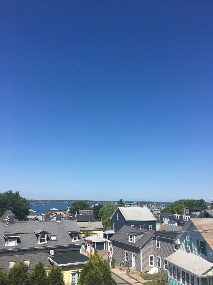 Rooftop view of Newport Rhode Island
