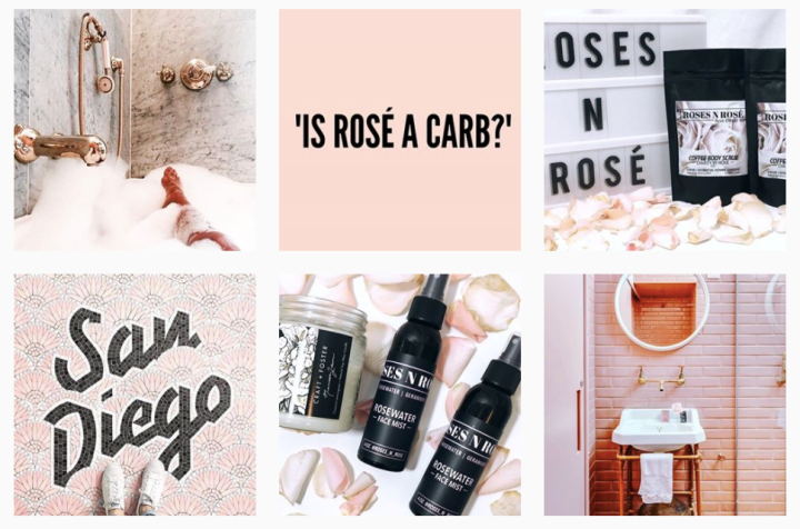 Roses n Rose skincare Instagram