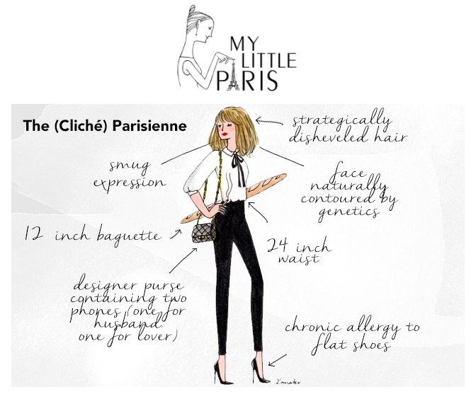 Stereotypical Parisienne by My Little Paris