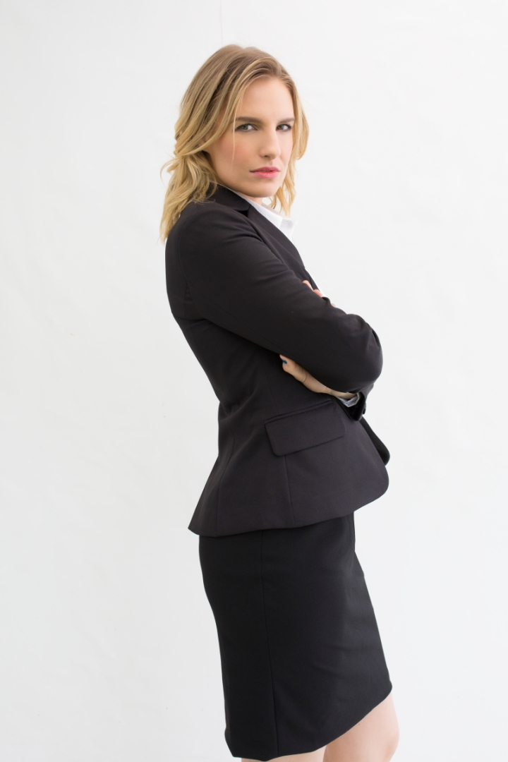 Suit & Simple blazer and pencil skirt