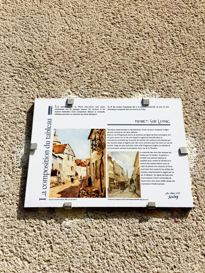 histoire de rue de la tannerie Moret-sur-Loing