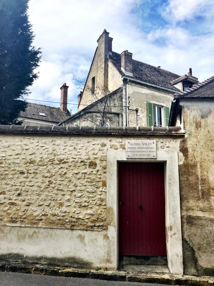 Alfred Sisley residence Moret-sur-Loing