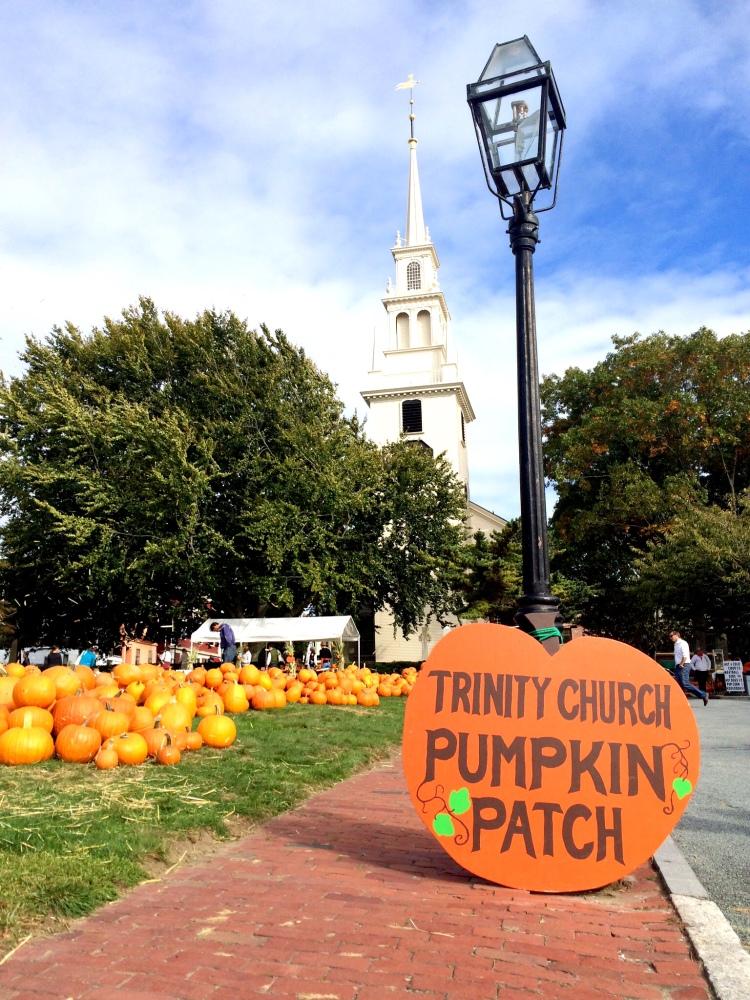 Trinity Church Rhode Island Pumpkin Patch