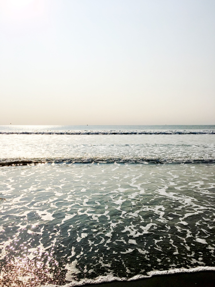 Narragansett Town Beach ocean view