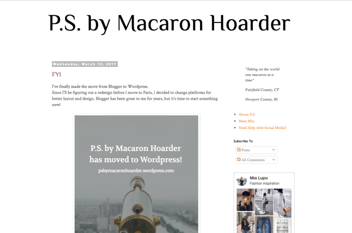 PS by Macaron Hoarder Blogger
