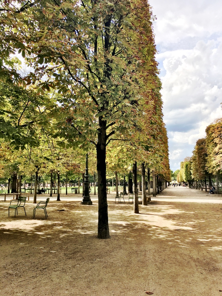 Tuileries Garden in Paris, France