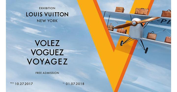 Louis Vuitton exhibit NYC 2017