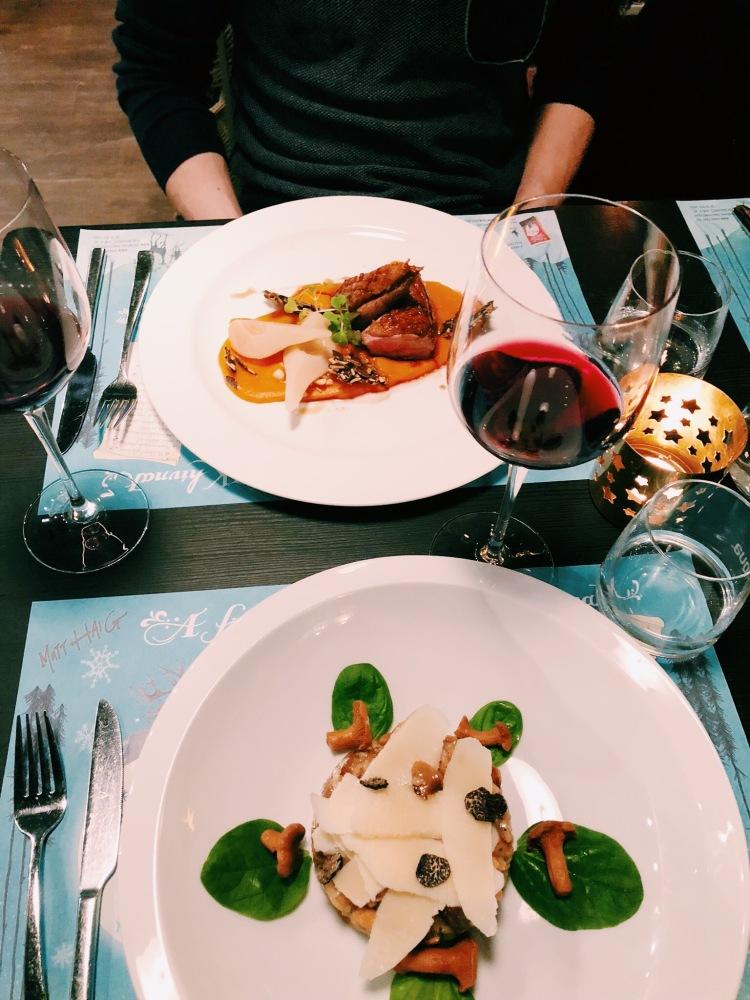 Dinner at KonyvBar Budapest
