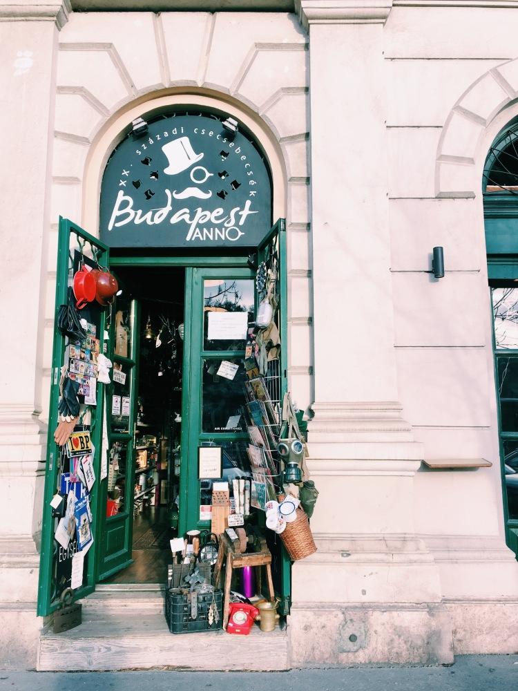 Budapest souvenir shop