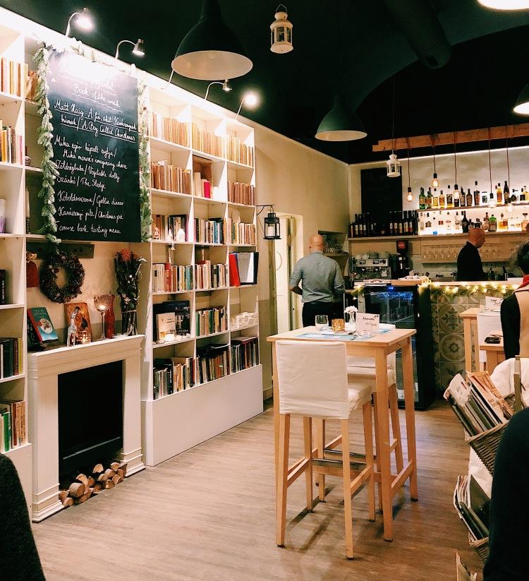 KonyvBar and Restaurant Budapest Hungary
