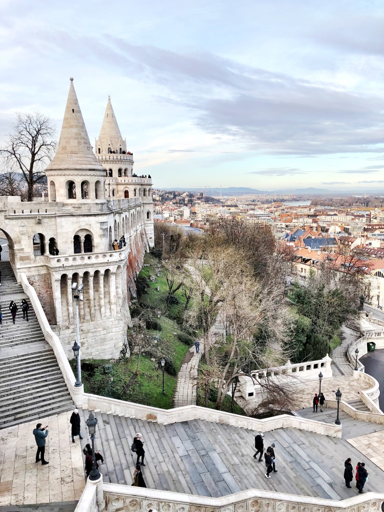 Buda Castle view of Budapest Hungary