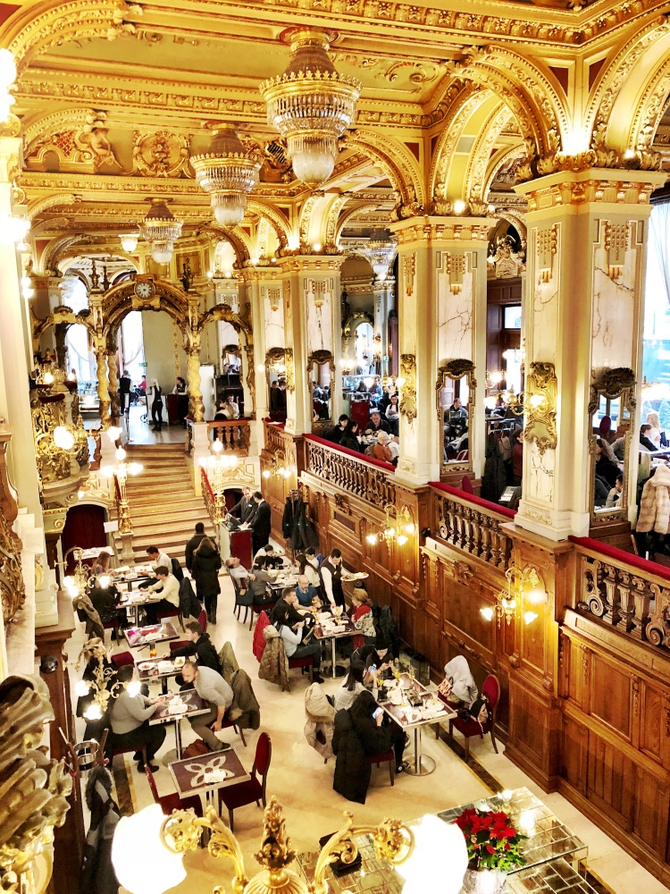 Cafe New York Budapest Hungary