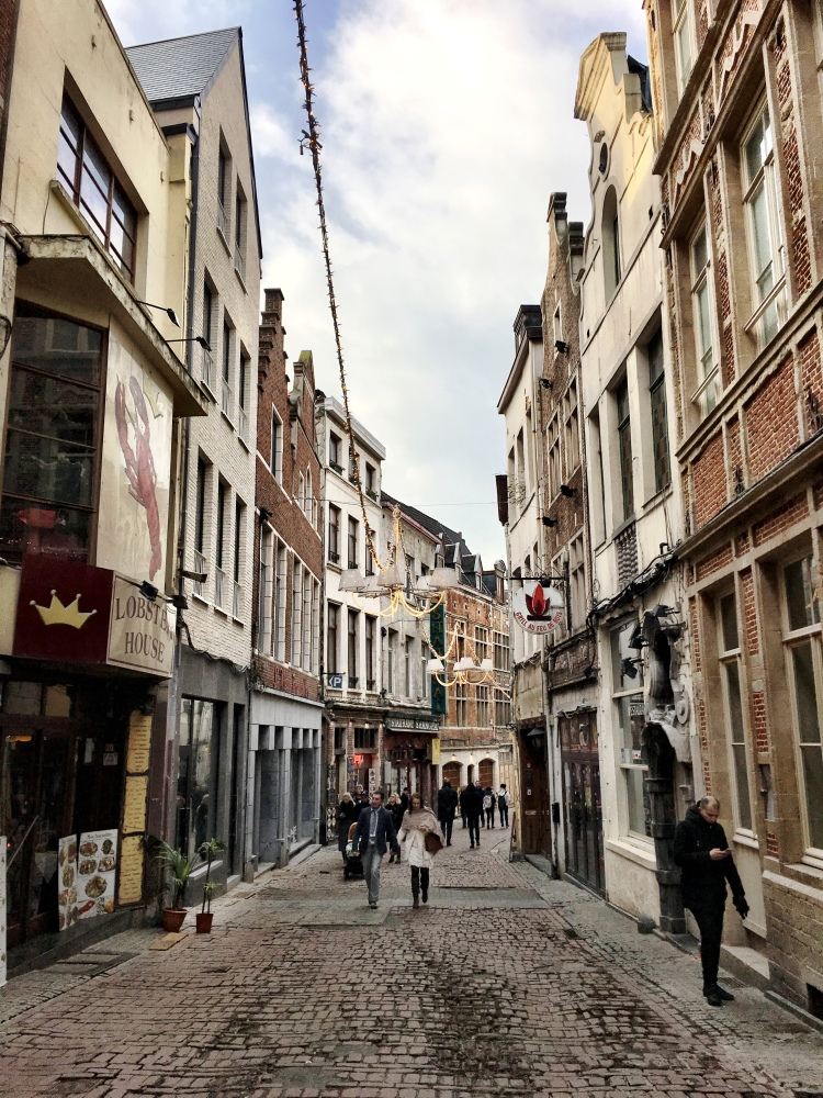 downtown Brussels Belgium