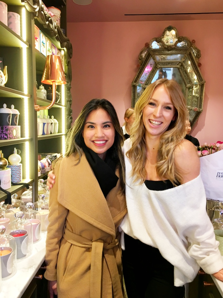 Laduree x Paris in Four Months tea launch