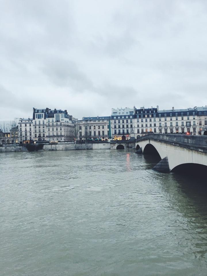 Ile de la Cite February 2018