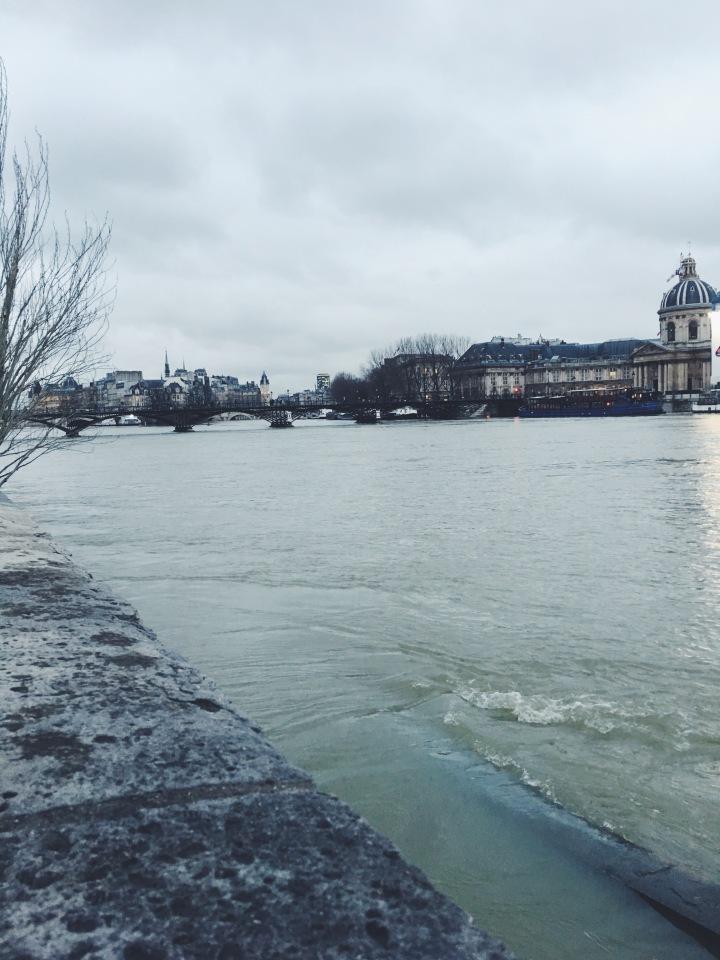 Pont des Arts February 2018
