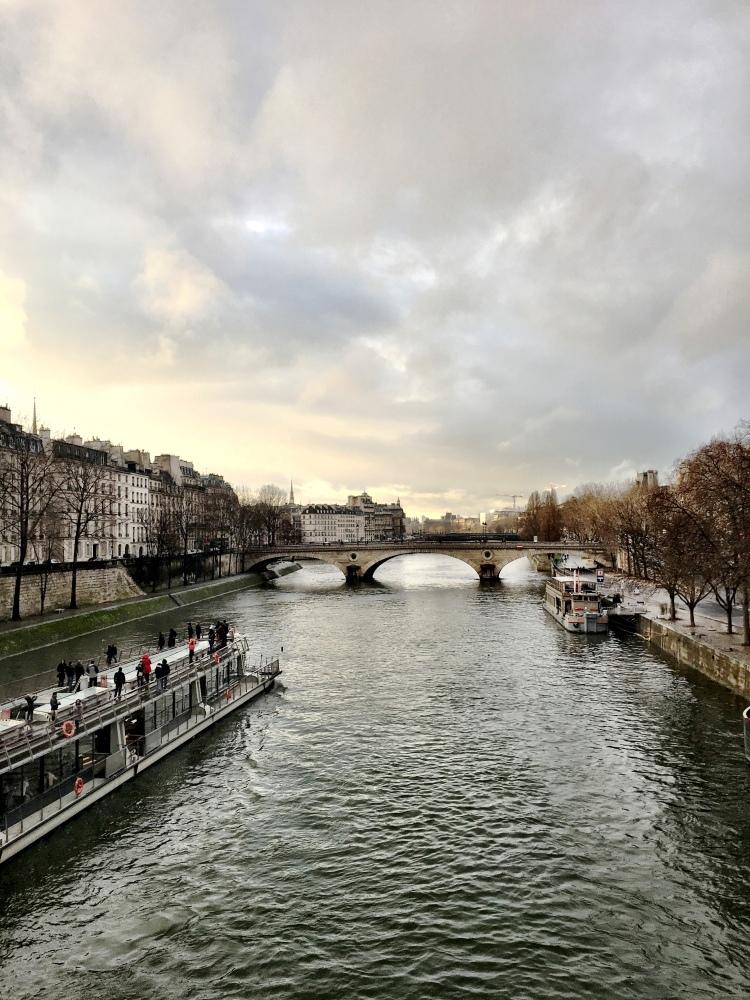 Seine River 4e arr February 2017