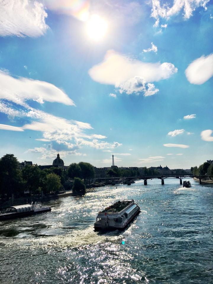 Pont des Arts Summer 2017