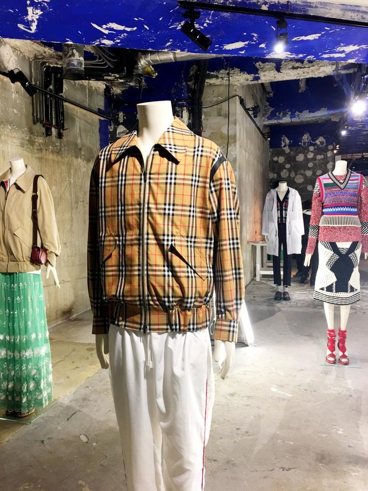 Burberry Here We Are exhibit Paris 2018